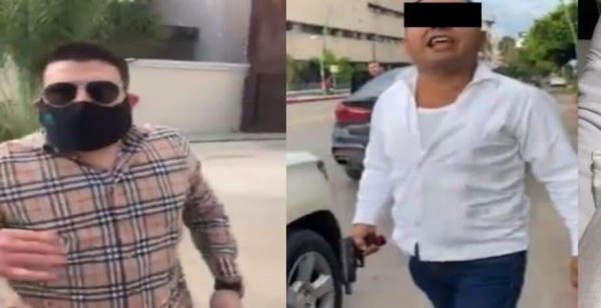 El yerno del gobernador de Chiapas denunció que el escolta de su mujer lo baleó